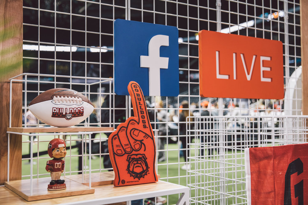 SEC coverage with Facebook and Instagram in Atlanta, GA