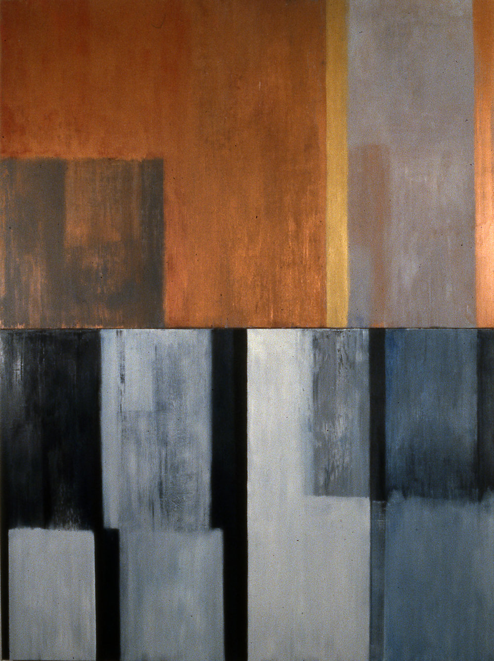 Gate, 1993, Oil, acrylic on canvas over panels, 96 x 84 inches.