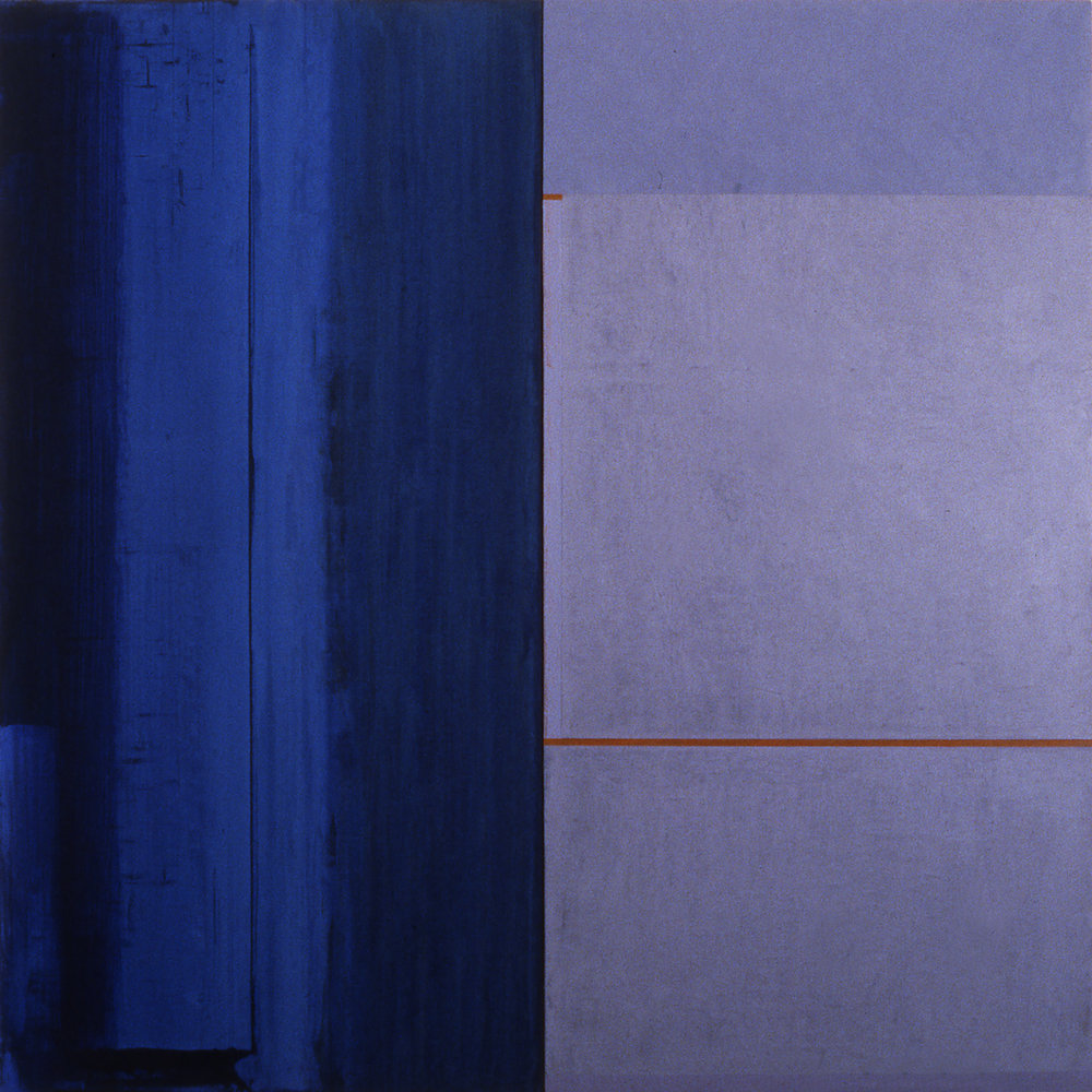 Janus XXIII, 1987, Acrylic on canvas over panels, 48 x 48 inches.