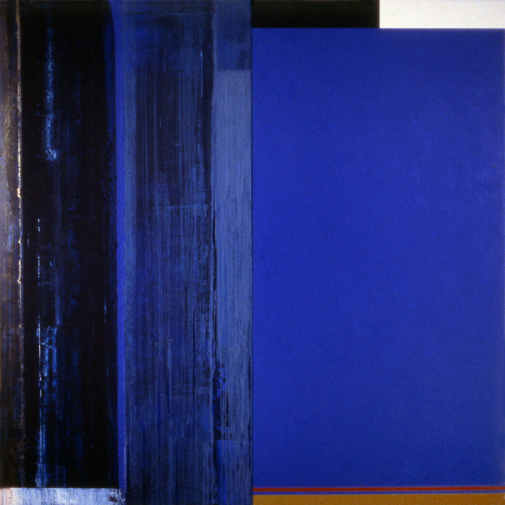Janus XXXIII, 1987, Acrylic on canvas over panels, 72 x 72 inches.