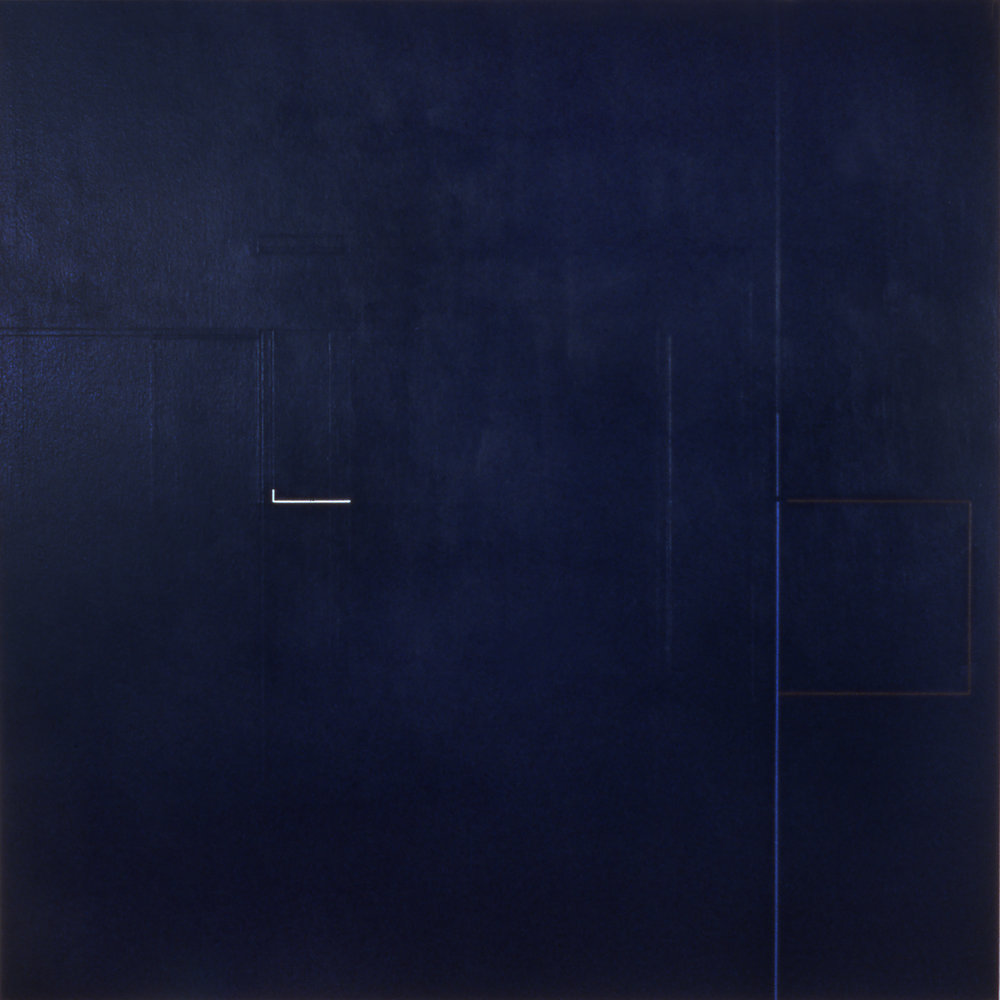 Path, 1984, Acrylic on canvas, 60 x 60 inches.