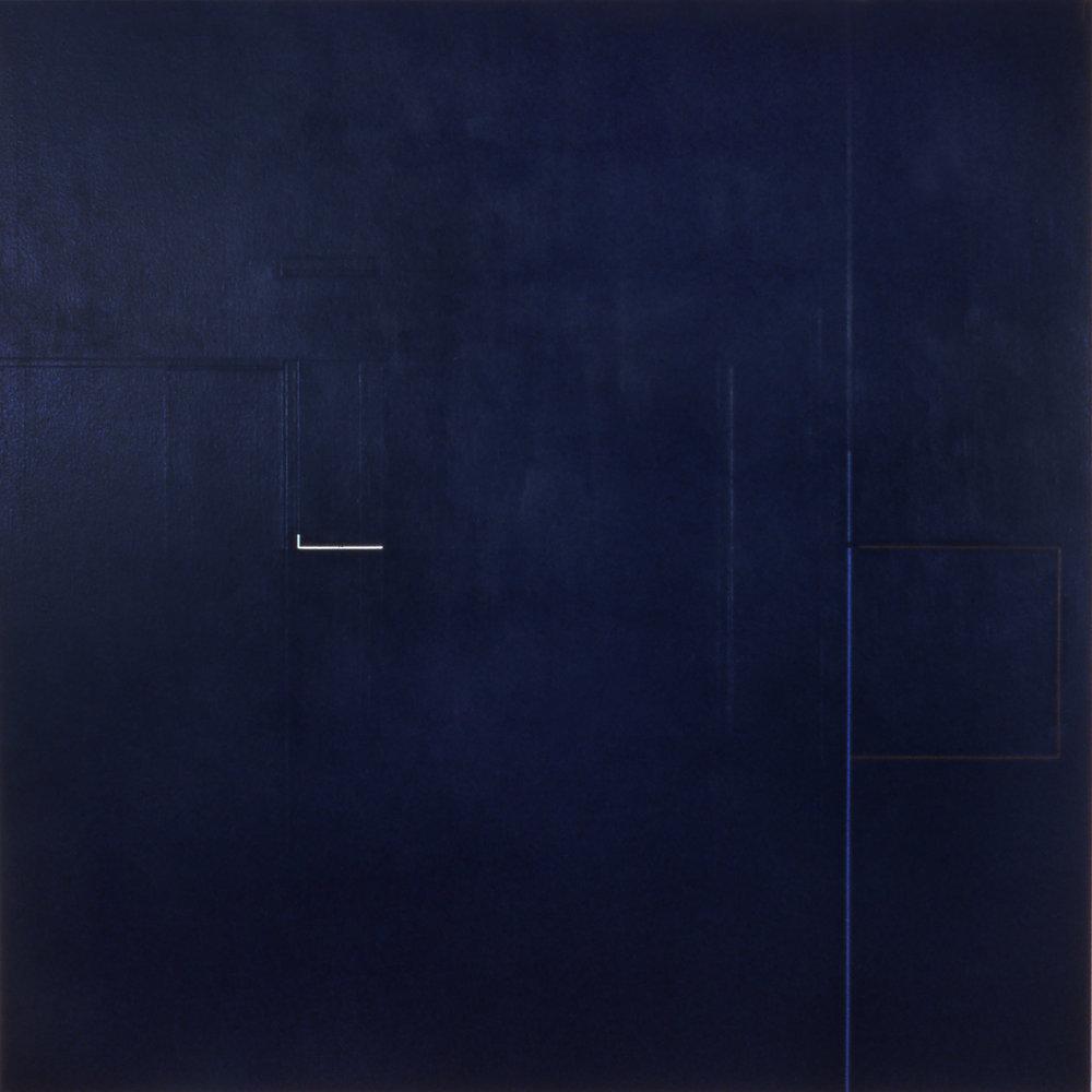 Path, 1984, Acrylic on canvas, 60 x 60 inches.