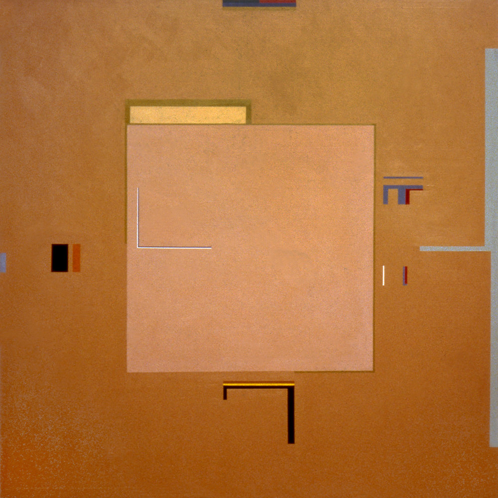 Albuquerque, 1983, Acrylic on canvas, 60 x 60 inches.