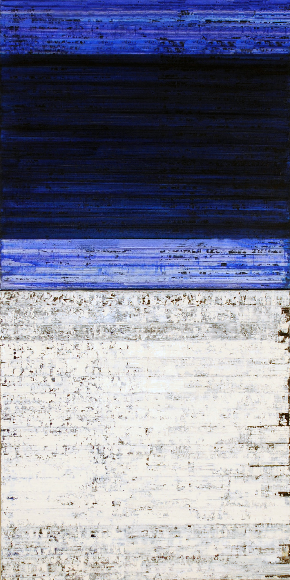 ISIS 19, 2010, Oil on canvas, 32 x 16 inches.