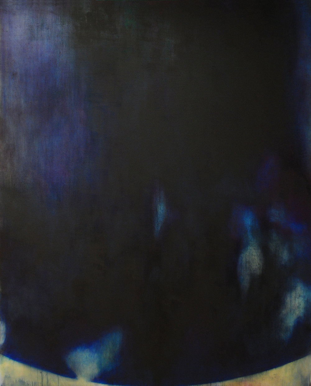 Kugelblitz,   2005-2011 ,  Oil, acrylic on canva s , 75 x 60 inches.