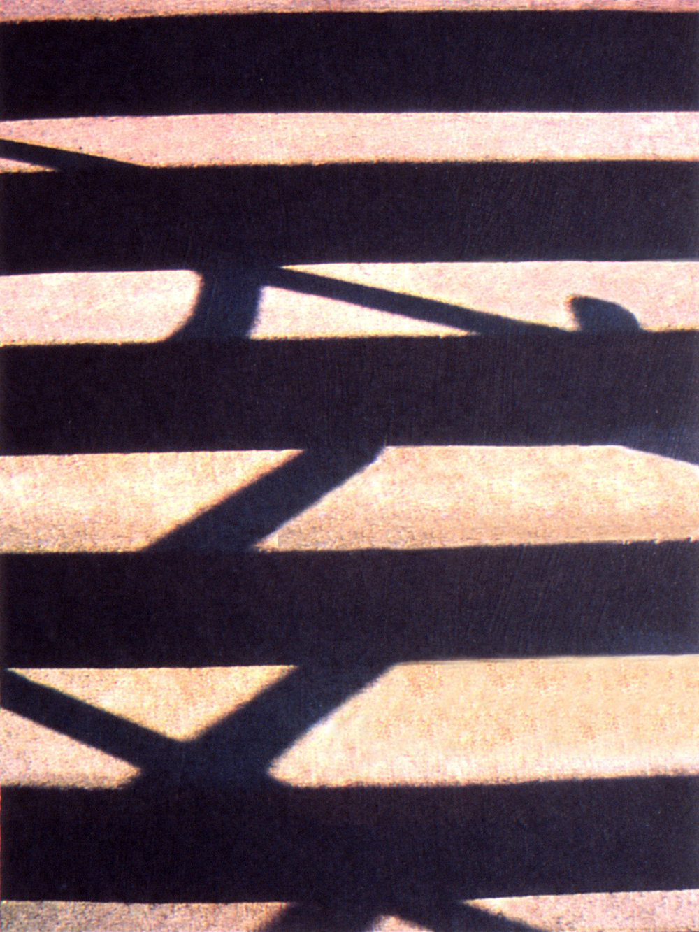Architecture 2, 2002, Four-color lithograph, 12 x 9in. (Chine Collé on 30 x 23.5 in. BFK Rives