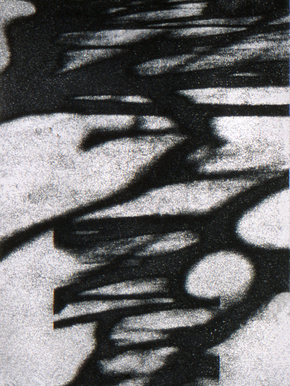 Landscape 2, 2002, Etching, 12 x 9 in. (on 30 x 23.5 in. BFK Rives)