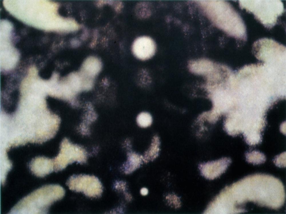 Sky 1, 2002, Silk screen, 9 x 12 in. (on 30 x 23.5 in. BFK Rives)