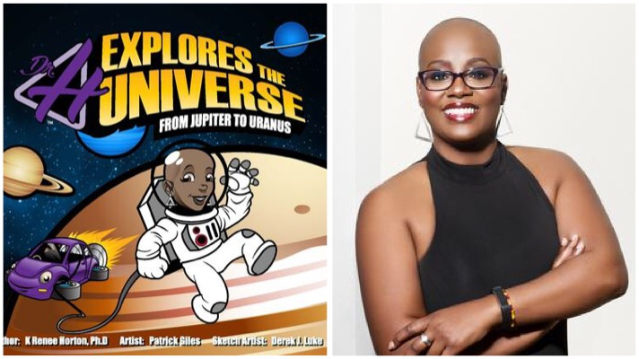 Dr. H explores the universe black woman in stem