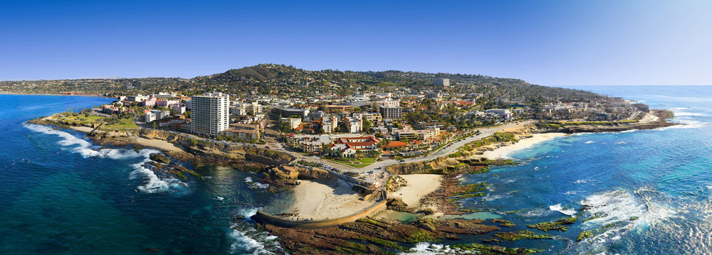 "La JoLLA - ""the jewel"" set between Mt. Soledad and the sea! International flair, top restaurants and galleries"
