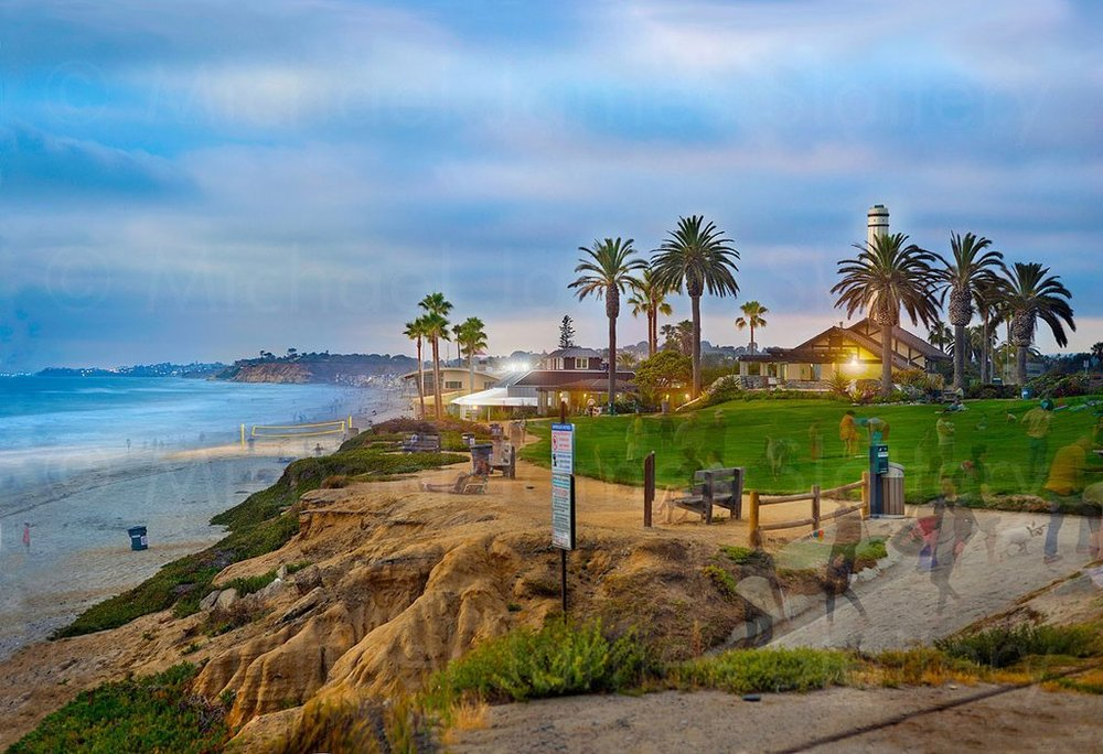 DEL MAR  - powerhouse park, home to summer concerts! unique hillside homes, oceanfront restaurants
