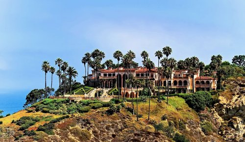 AerialPhotography - La Jolla Oceanfront Estate Co-listed and Sold through Dyson & Dyson Real Estate
