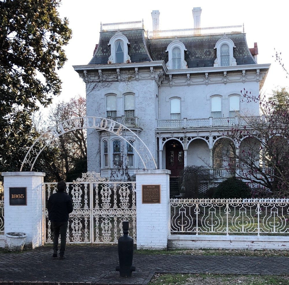 Riverlore was an abandoned mansion considered a white elephant when owned by Cairo, but it's being sold to a town native. (One Illinois/Ted Cox)