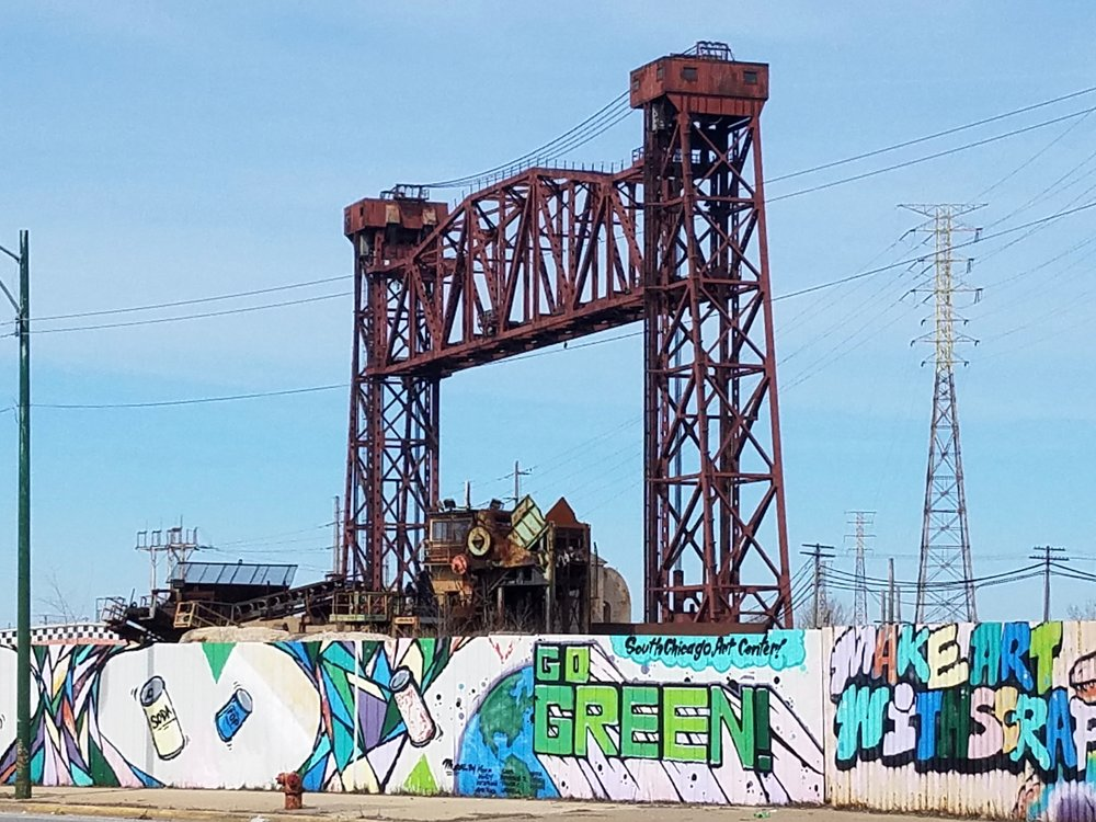 Chicago's South Works steel plant has long been idle. (One Illinois/Edward McClelland)