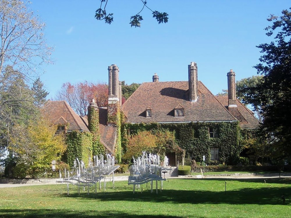 The Harley Clarke Mansion has been owned by Evanston since 1965, but was shuttered in 2015. (Wikimedia Commons/Teemu008)