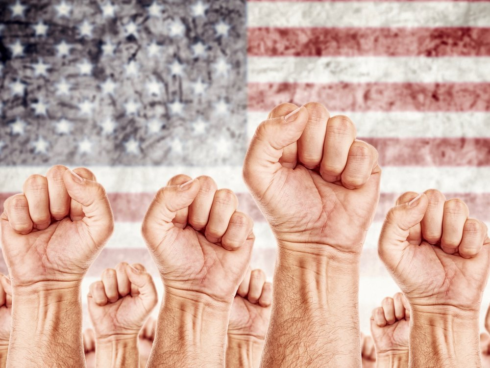 A new study finds that unions typically give voice to the politically disenfranchised. (Shutterstock)