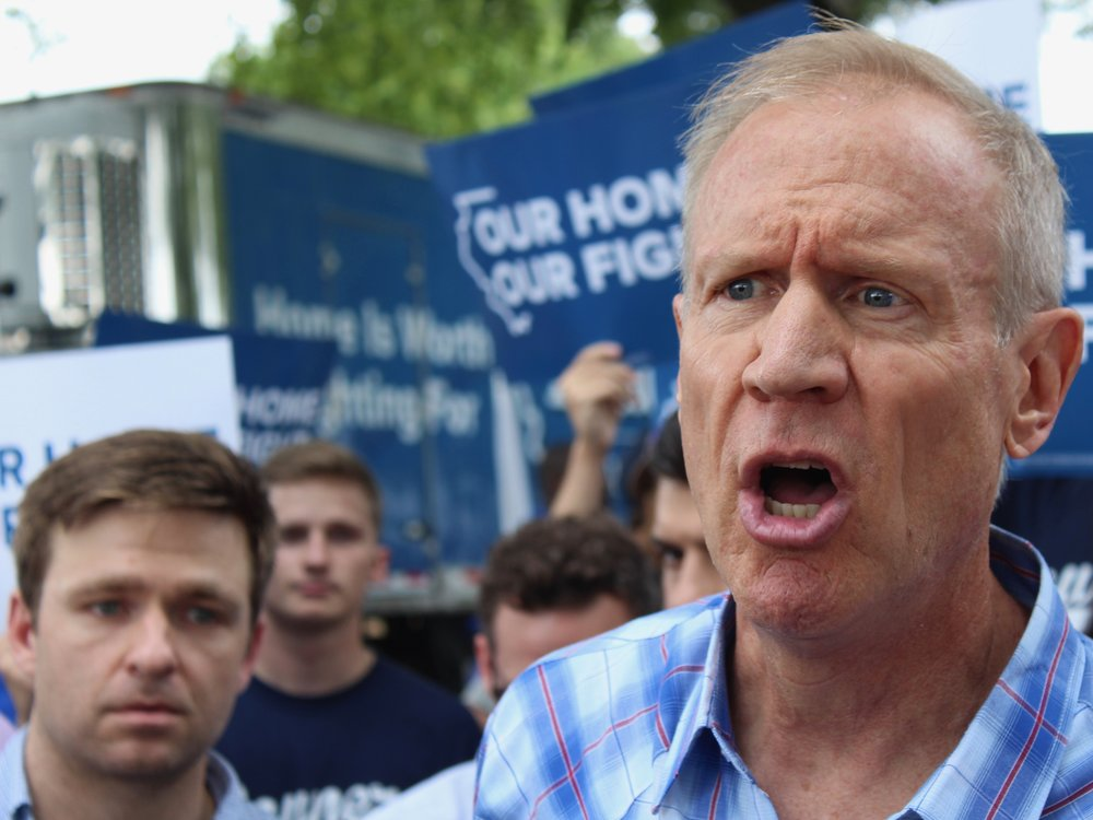 A new BGA study finds Gov. Rauner is lying about a proposed progressive income tax. (One Illinois/Ted Cox)