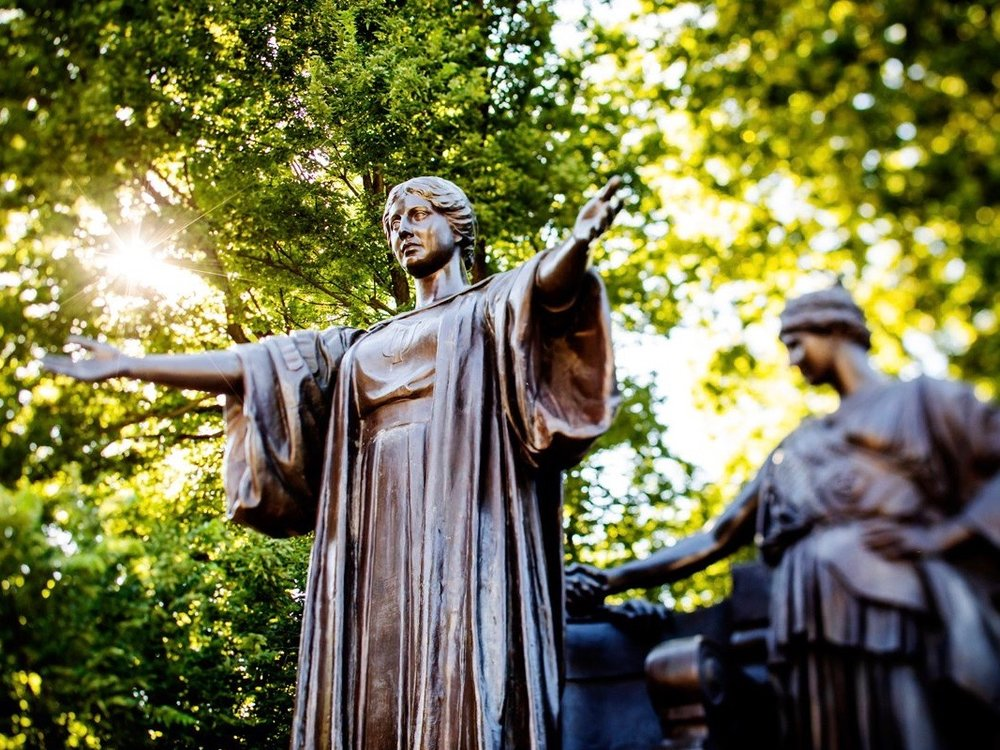 The Alma Mater at the University of Illinois at Urbana-Champaign is welcoming the largest number of in-state freshmen in a decade. (Twitter/Illinois_Alma)
