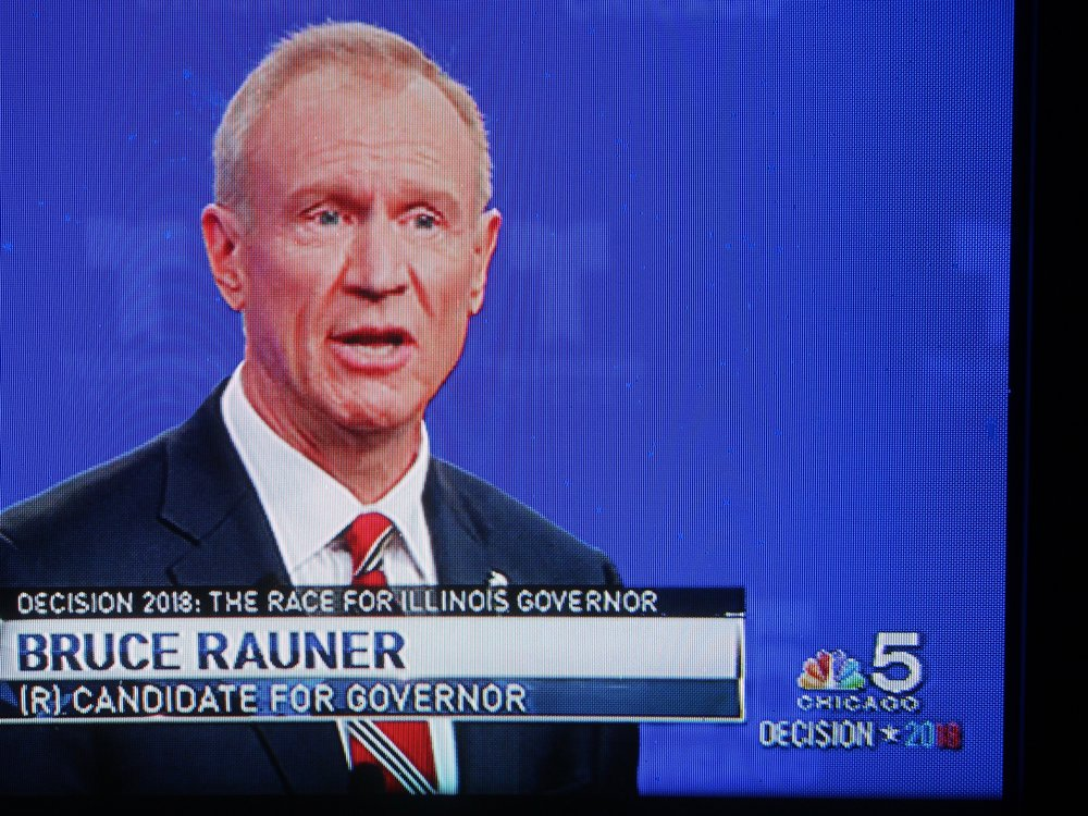 """it's easy for you to sit on the sidelines and criticize when you haven't done an honest day's work in your life."" - Gov. Bruce Rauner (WMAQ-TV)"