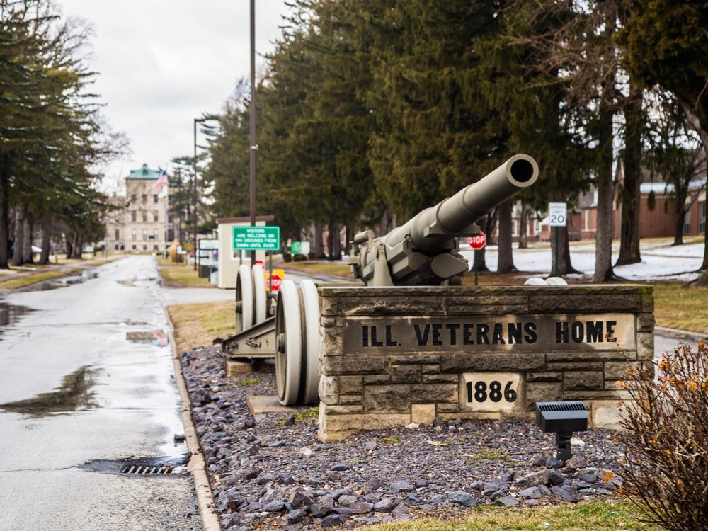 The Illinois Veterans Home in Quincy has suffered repeated outbreaks of Legionnaires' disease under Gov. Rauner. (One Illinois/Zachary Sigelko)