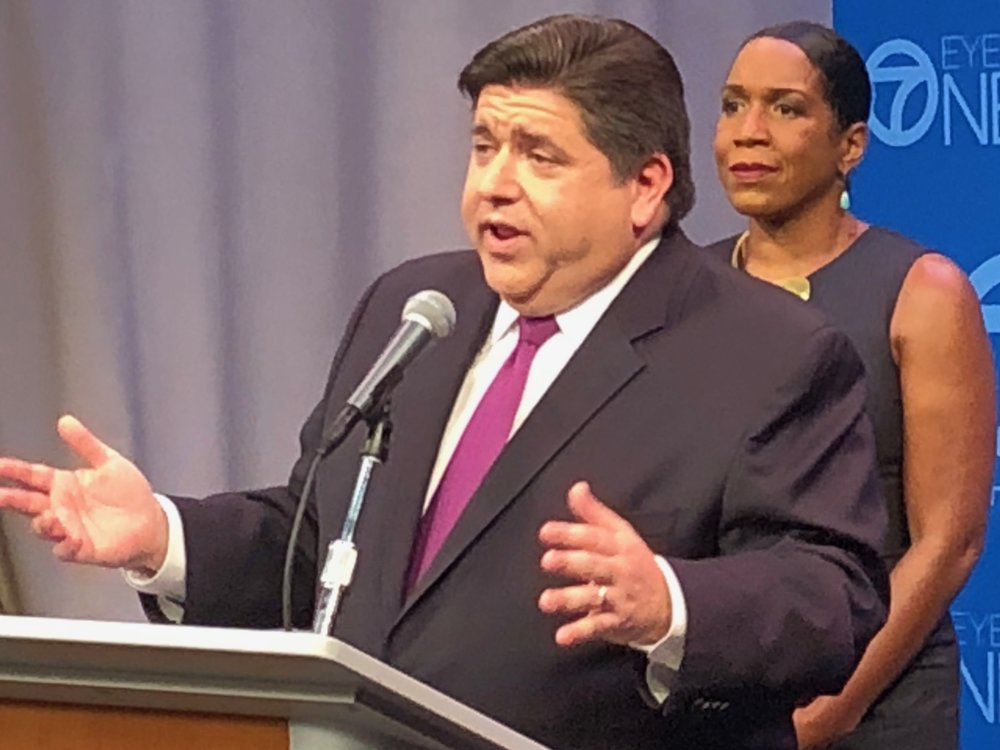 """I really believe that this is about standing up for the working families of Illinois and asking those who can most afford it to step up to the plate."" - J.B. Pritzker on a graduated tax system"
