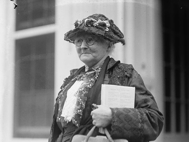"Mary Harris ""Mother"" Jones was born in Ireland, lost her family in an outbreak of yellow fever in Memphis, Tenn., lost all her possessions in the Great Chicago Fire, and went on to be a renowned labor organizer with the United Mine Workers — not that we're suggesting how to vote."