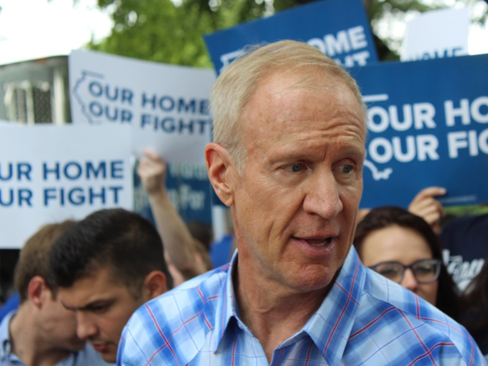 Gov. Rauner's office has been unresponsive on a binding opinion calling for him to release emails on government appointments. (One Illinois/Ted Cox)