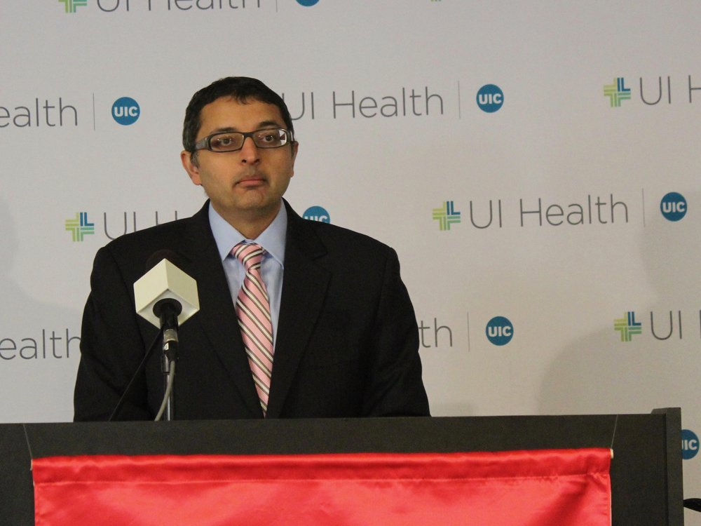 Emails show Public Health Director Nirav Shah could have issued a public citation on a botched repair that led to a Legionnaires' disease outbreak at the Quincy Veterans Home, but he didn't and kept it quiet. (One Illinois/Ted Cox)