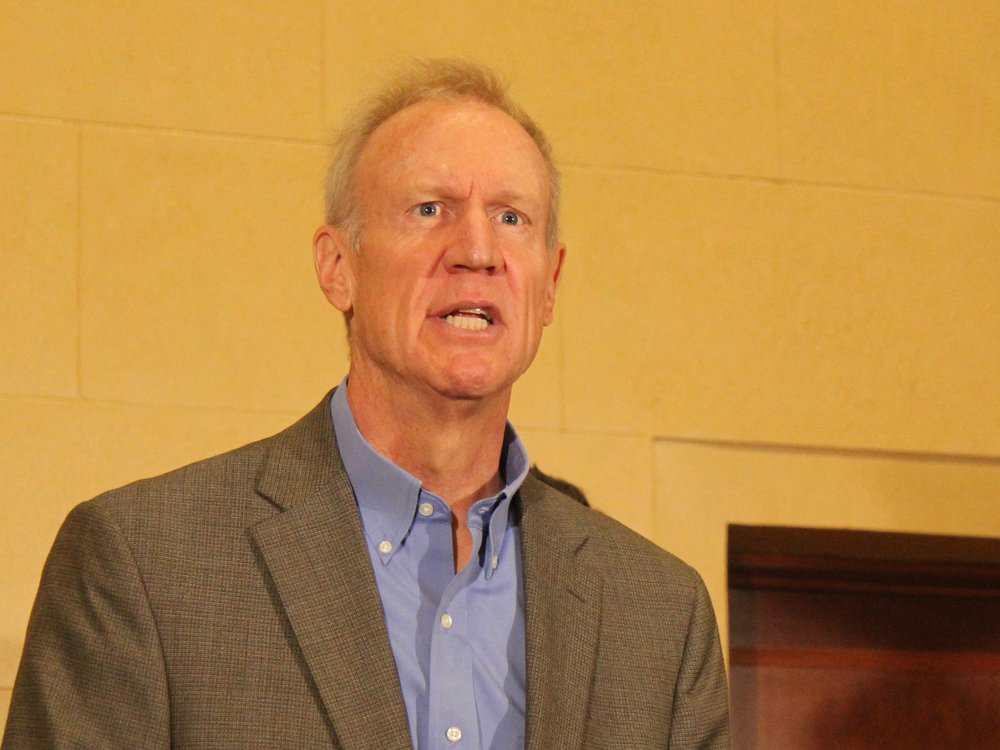 Gov. Rauner has held an ownership stake in Sterigenics through investments. (One Illinois/Ted Cox)