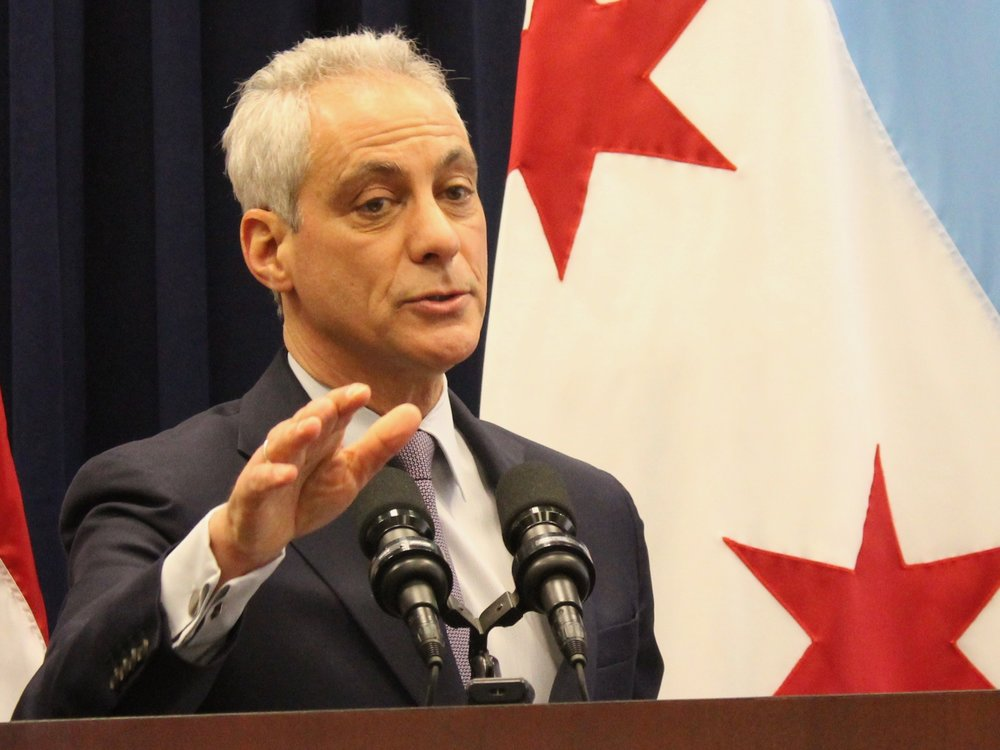 """These contributions must be made. There are no ifs, ands, or buts about it. That is not just my opinion. That is the law."" - Chicago Mayor Rahm Emanuel on pensions (One Illinois/Ted Cox)"