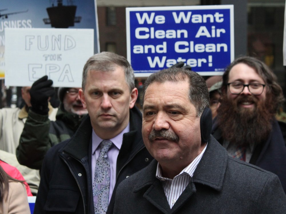 "U.S. Rep. Jesus ""Chuy"" Garcia called the entire government shutdown ""a made-up crisis at the border"" intended to ""portray immigrants in the worst light possible."" (One Illinois/Ted Cox)"