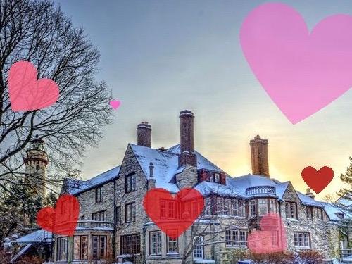"Evanston's beloved Harley Clarke Mansion gets ""heart bombed"" on Saturday. (Friends of Harley Clarke/Tom McAuliffe)"