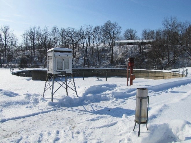 The Mount Carroll weather station posted the Illinois record low temperature of minus 38 on Jan. 31, recently confirmed by a state committee. (National Weather Service Quad Cities)