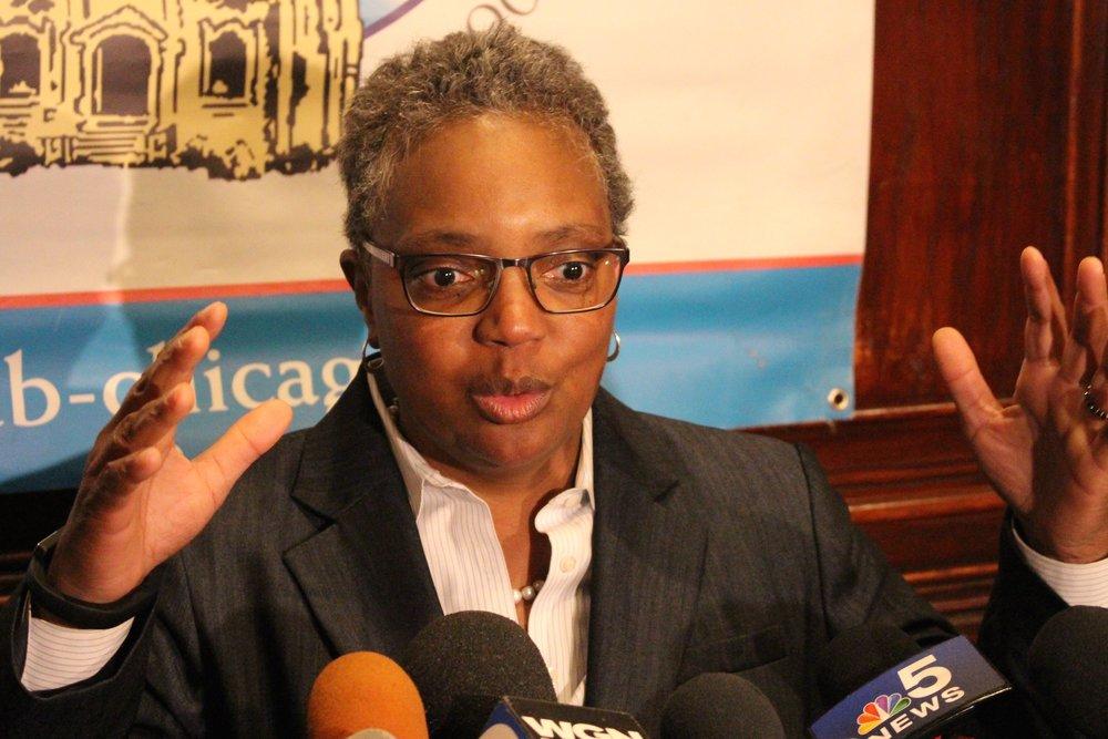 Lori Lightfoot will be the next mayor of Chicago, succeeding Rahm Emanuel. (One Illinois/Ted Cox)