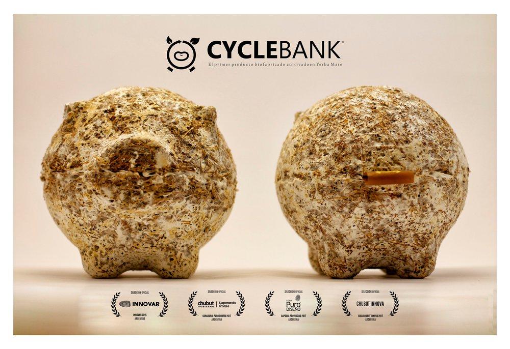 CYCLEBANK el primer producto biofabricado cultivado en Yerba Mate II.jpg