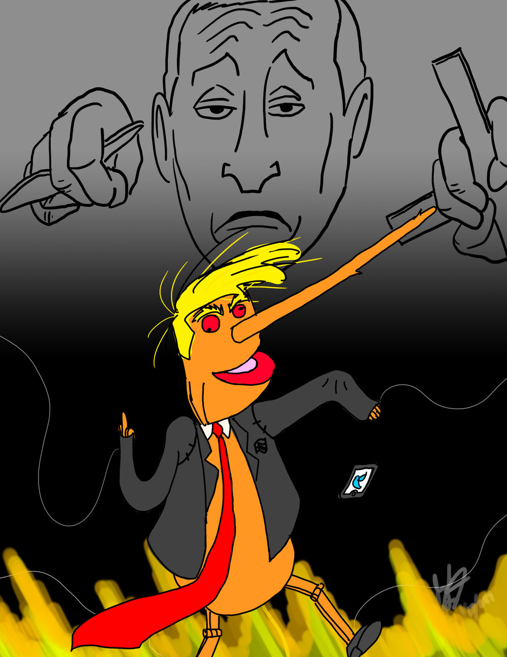 Putin's Puppet  (an update)
