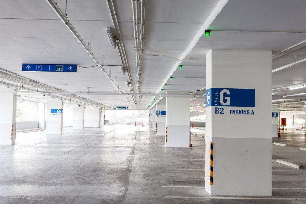 Car park Signage