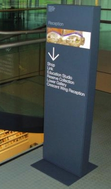 Totem Signage