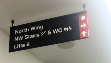 Suspended Wayfinding