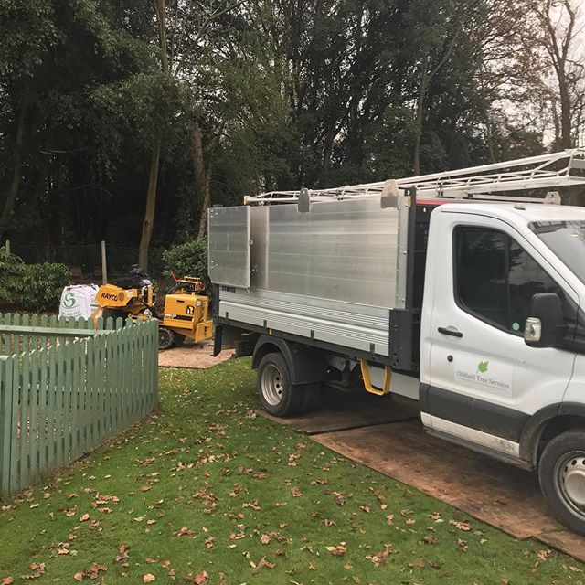 We'd previously dismantled this mature beech tree and come back to grind the stump. Half a day and 2 tonnes of stump grindings later and it's ready for topsoil and seed. #oldfieldtreeservices #arborist #stumpgrinding #raycostumpgrinder #nowyouseeitnowyoudont #treeremoval #treesurgery #treesurgeon
