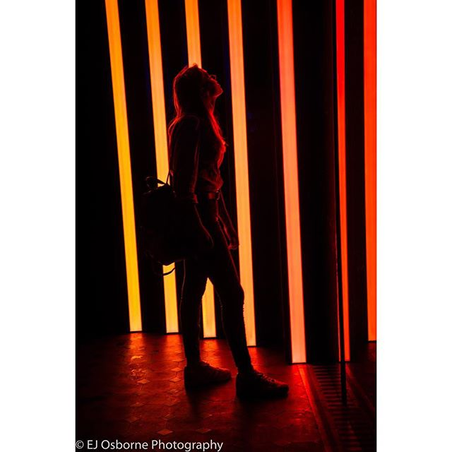 Trip to see an experience filled exhibition at the V&A Gallery, you can learn so much from other people's work! #lighting #model #neon #neonlights #strobe #strobelights #fire #orange #red #yellow #hot #silhouette #silhouettephotography #fulllength #v&a #gallery #artgallery #reflection #reflections #photography #photoshoot #photographer #photooftheday #dailyphoto #contrast #saturation