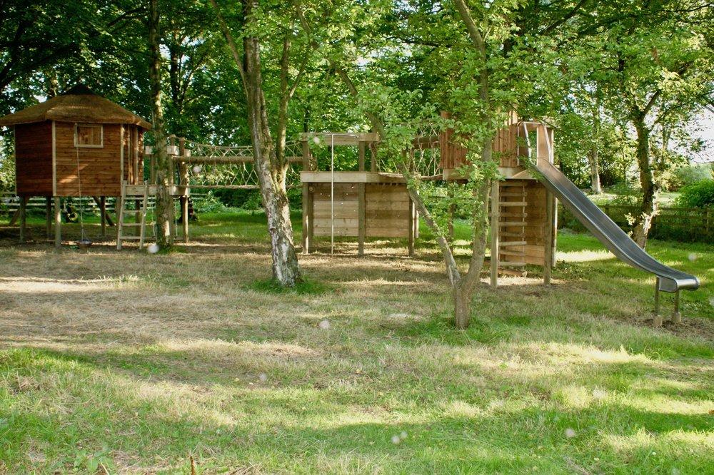 Back-yard garden playground