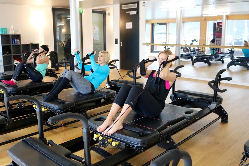 Try Reformer Pilates