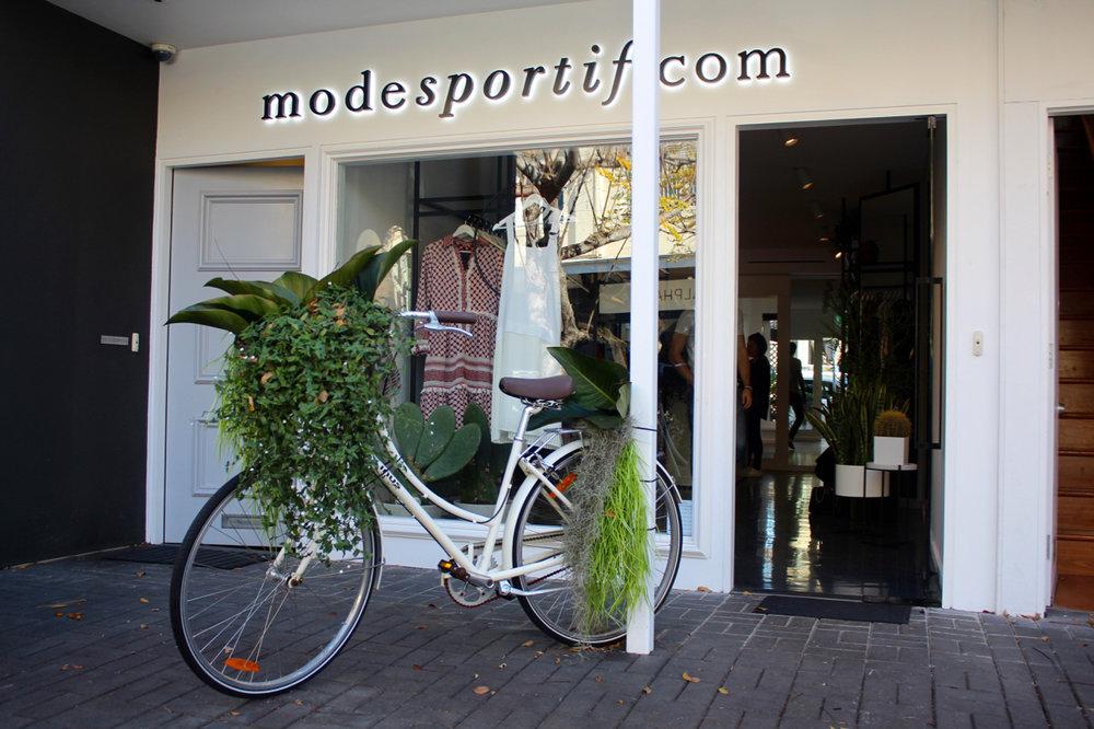 Mode Sportif Store in Paddington, Sydney