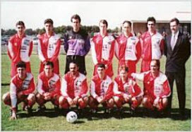Albion Redsox Soccer Club Senior team circa 1995