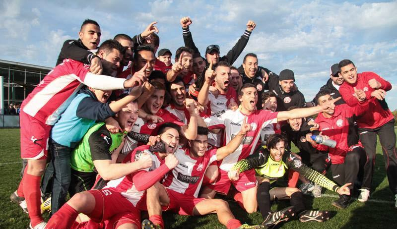 Cairnlea FC champions 2013