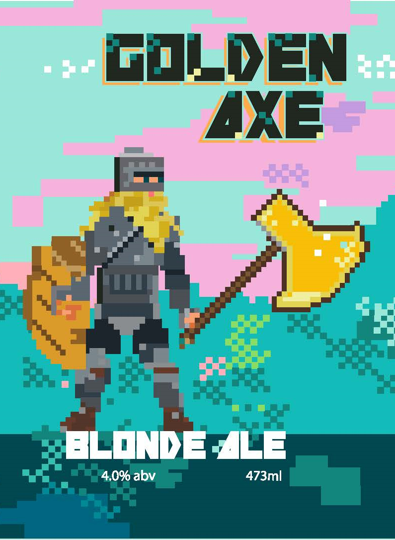 Golden Axe - Blonde Ale, 4.0% abv