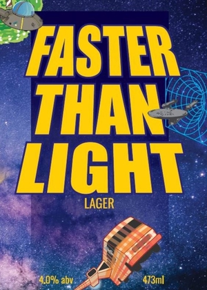 Faster Than Light - Lager, 4.0% abv