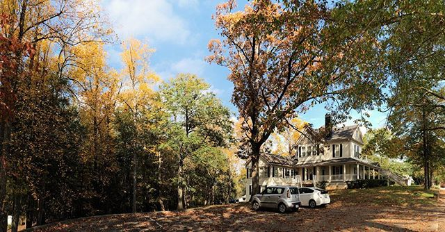 It's hard to beat the Manor in fall.  #whitestonestoryline