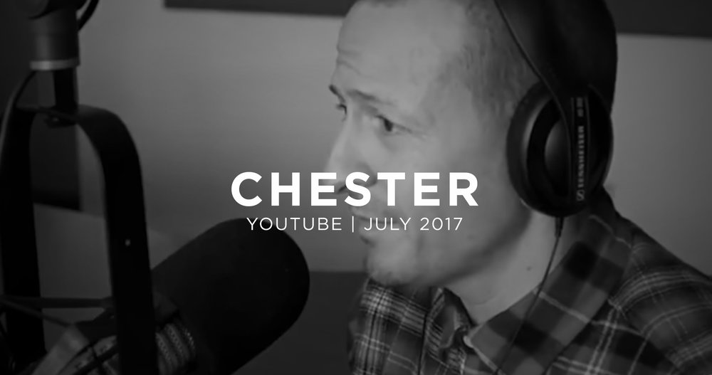 Chester Bennington talking about his depression. July 22, 2017